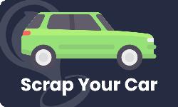 Scrap A Car Button - Scrap Local - Colne